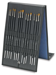 Kolinsky Sable Brush Easel Gift Set