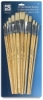 Loew Cornell White Bristle Brush Sets