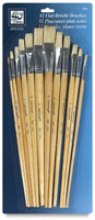 Loew-Cornell 12-Piece Brush Sets