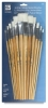 Loew-Cornell White Nylon Brush Sets