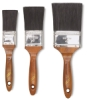 Linzer Polyester Flat Brush Set