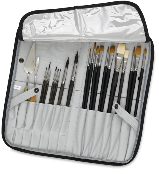 Brush Case (Brushes Not Included)