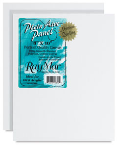 Plein Aire Portrait Panels, Pkg of 2