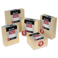 Blick Super Value Wood Panel Packs