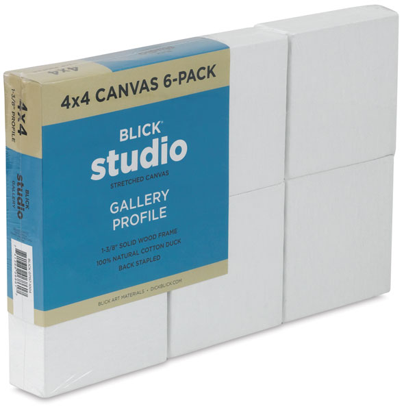 Gallery Profile Canvas, Pkg of 6