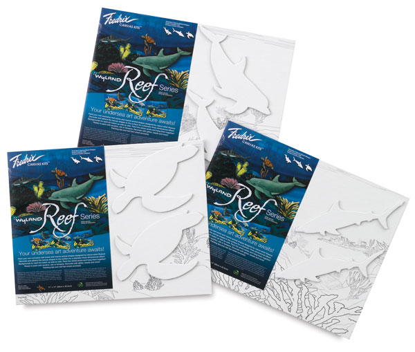 Wyland Reef Series Canvas Kits