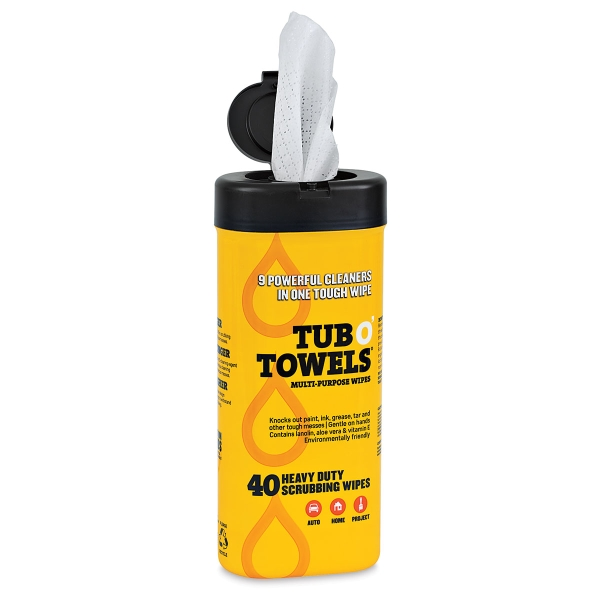 Tub O' Towels, Pkg of 40