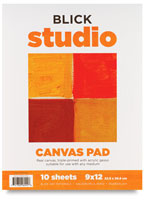 Blick Studio Canvas Pads