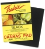 Fredrix Black Canvas Pads