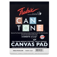 Fredrix Can-Tone Pre-Toned Canvas Pads