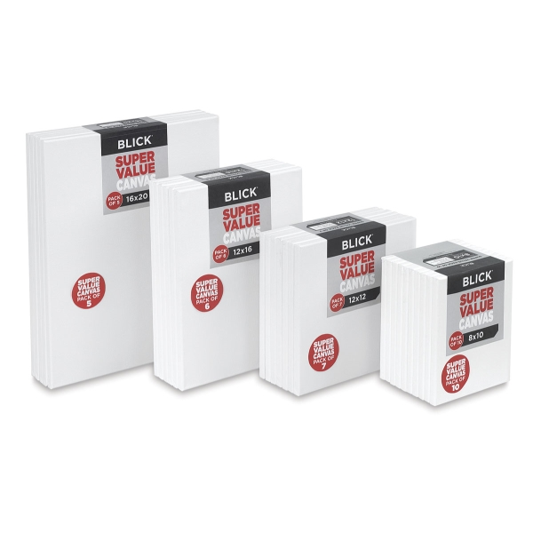 Blick Super Value Canvas Packs
