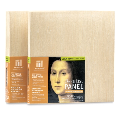 Value Series Artist Wood Panels - Ampersand Value Series Artist Wood Panels - BLICK Art Materials