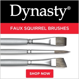 Dynasty Faux Squirrel Brushes
