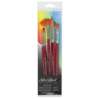 Golden Natural Brushes for Watercolor, Set of 5