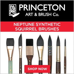 Princeton Neptune Synthetic Squirrel Brushes