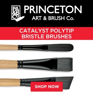 Princeton Catalyst Polytip Bristle Brushes