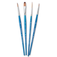 Cotman Watercolor Brushes Set A, Set of 4