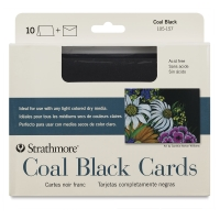 Strathmore Artagain Coal Black Cards