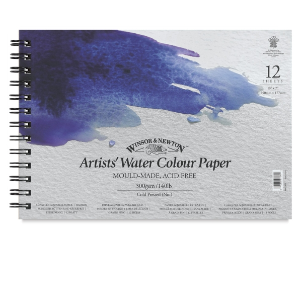 Professional Watercolor Spiral Pad