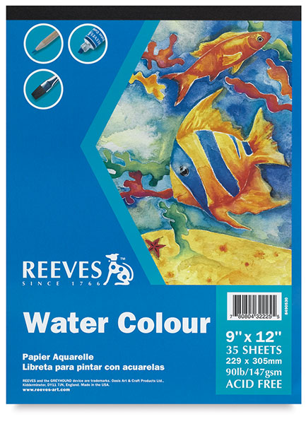 Watercolor Pad, 35 Sheets