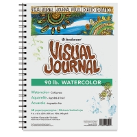 Strathmore Visual Journal, Watercolor (90 lb)