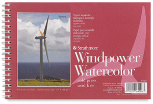 Strathmore Windpower Watercolor Pads Blick Art Materials