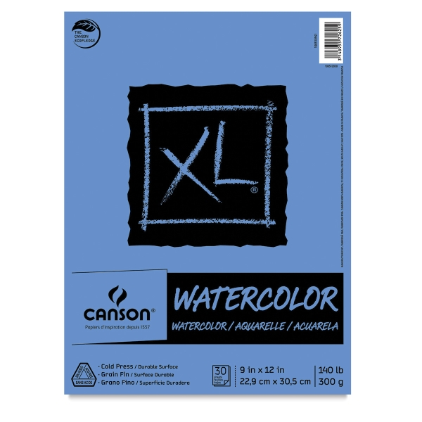Watercolor Pad, Euro Fold