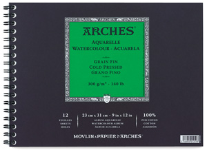 Arches Watercolor Pad, 12 Sheets