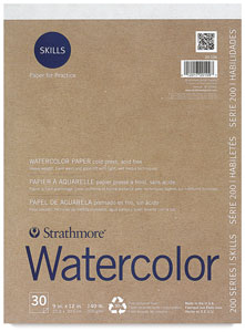 200 Series Skills Watercolor Pad
