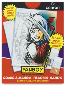 Comic & Manga Trading Cards, Pkg of 20