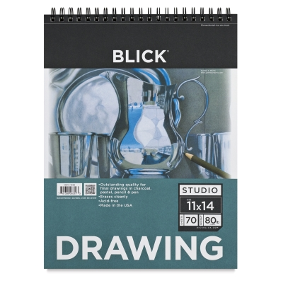 "Drawing Pad, 11"" x 14"", 70 Sheets"