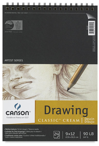 Drawing Pad, 24 Sheets
