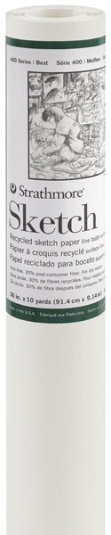 Recycled Sketch Paper, Roll