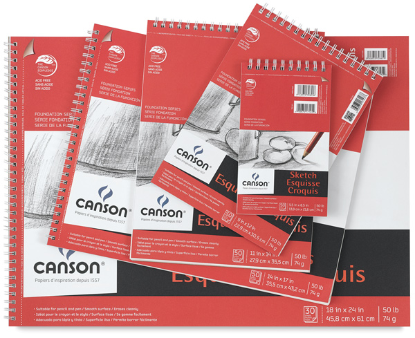 Canson Foundation Sketch Pads