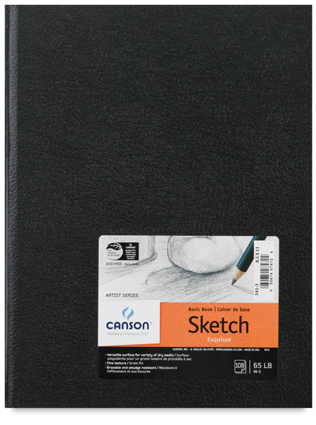 "Sketchbook,  8½"" × 11"""