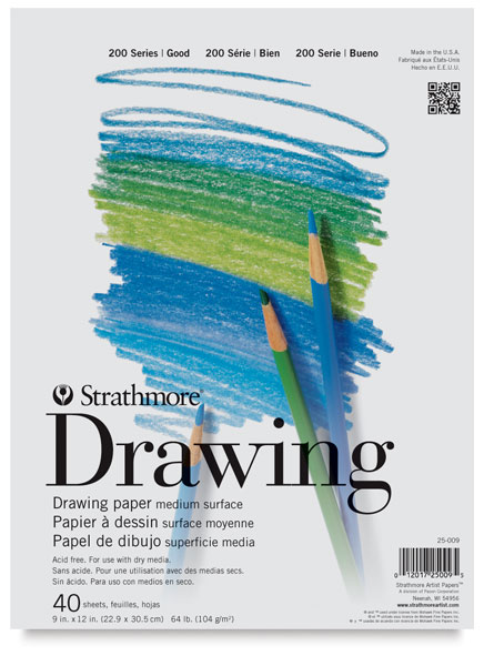 Drawing Paper Pad, 40 Sheets