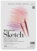 Sketch Pad, 100 SheetsTape Bound, Top