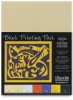 Black Ink Block Printing Packs