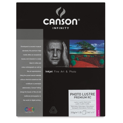 Infinity Photo Lustre Premium RC, Pkg of 25 Sheets