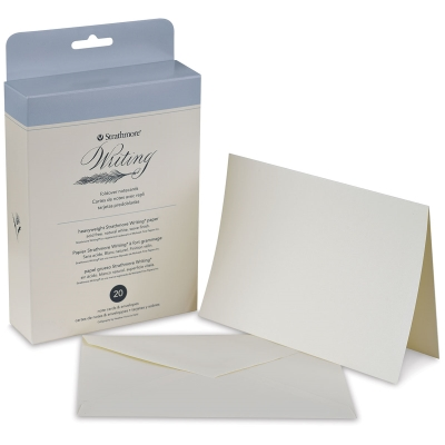 500 Series Writing Cards, Folded