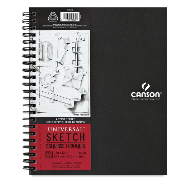 Artist Series Sketch Book, 100 Sheets