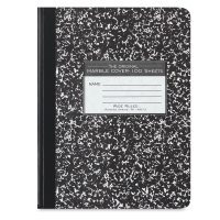 Composition Notebook, 100 Sheets, Wide Rule
