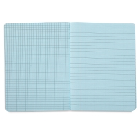 Dual Ruled Composition Book, Blue