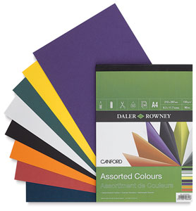 Assorted Colors, 30-Sheet Pad