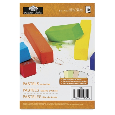 Pastel Pad, 10 Sheets, Assorted Colors