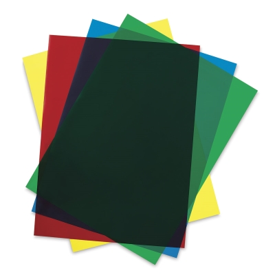 Clear-Lay Assorted Colors
