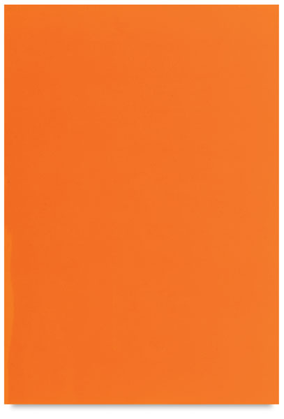 Single Sheet, Orange