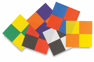 2 Tone Color Schemes aitoh two tone origami paper - blick art materials