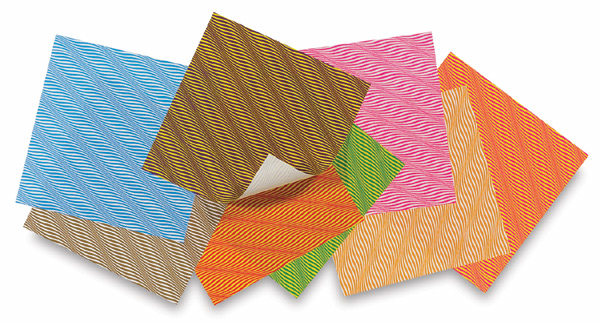 Wave Paper Assortment, Pkg of 40