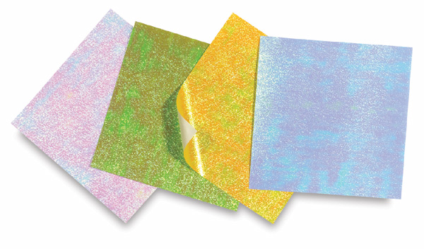 Opalescent Foil, Pkg of 8 Sheets